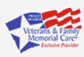 Veterans & Family Memorial Care Logo
